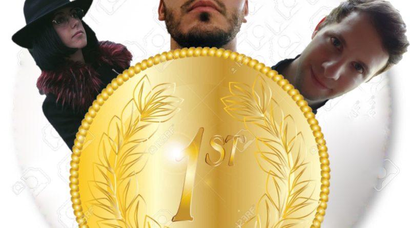 Giorgia D'Aversa, Luca Fagiolo ed Edoardo Foresti vincono la STAFFETTA delle Olimpiadi della Scrittura!