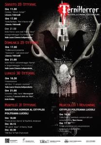 Minuti Contati avrà l'onore di dare il via al Terni Horror Fest