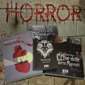 """""""L'horror è un genere divertente, dove in molti casi tutto è concesso e che trasmette emozioni dirette forti e che trovo """"facili"""" da passare al lettore."""""""